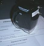 Expert graphologue miscroscope
