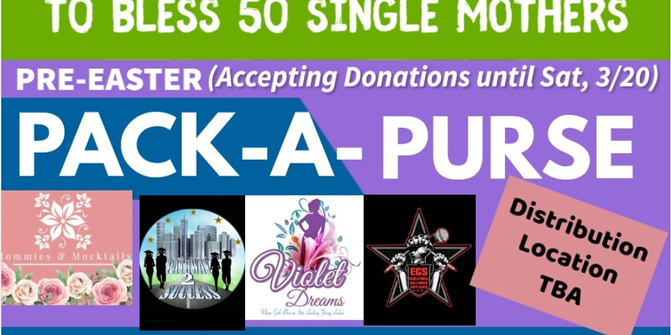 Pack-A-Purse Donation & Drop-Off
