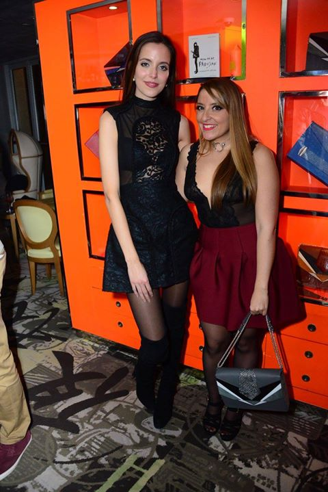 Paris _ After Party paris fashion week mademoiselle valerie style__Marta Sierra , Mademoiselle Valer