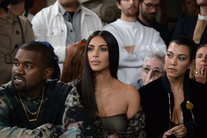 Summer 2017__ Kanye West, Kim Kardashian, Kourtney Kardashian
