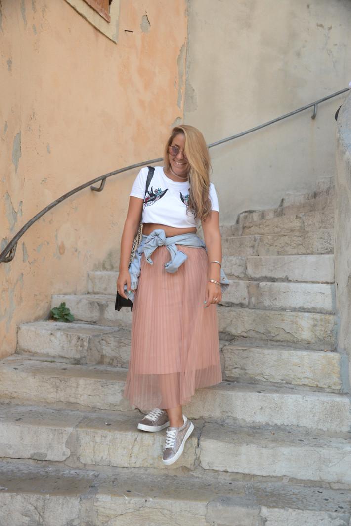 N°27 Look Adopt' la jupe plissée