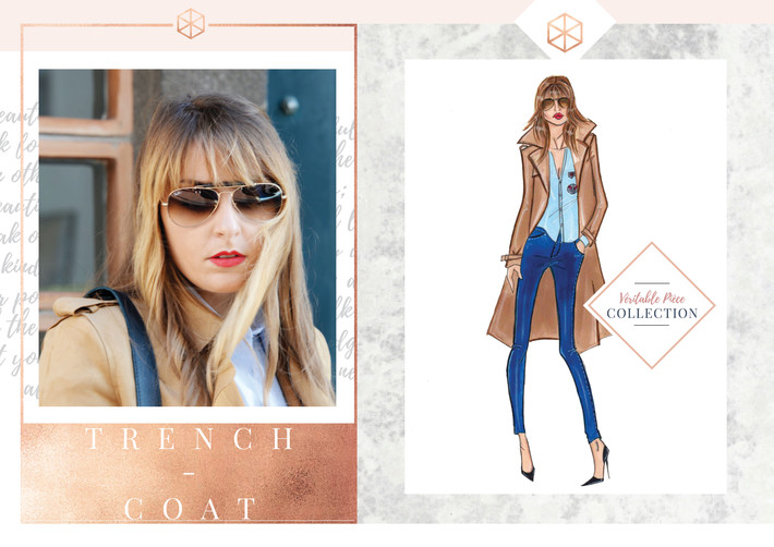 N°28 Look Frenchy Trench