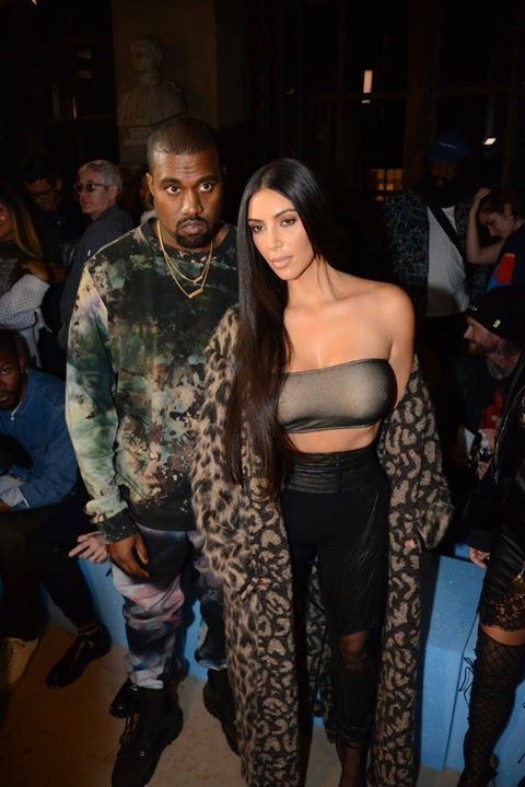 Summer 2017__Kanye West, Kim Kardashian