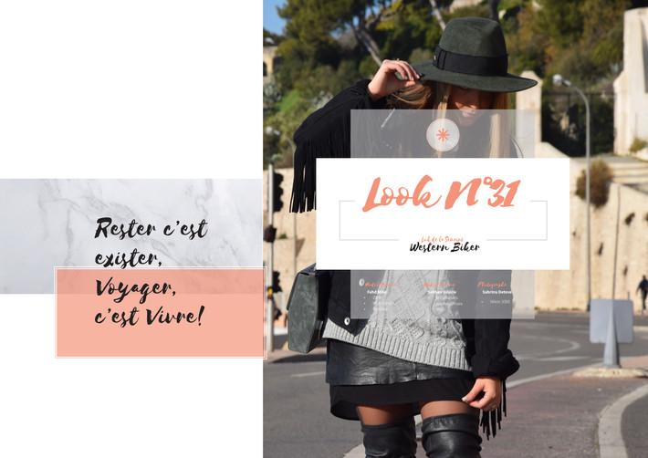 N°31  Look Biker // Wild West Style
