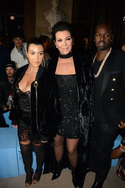 Summer 2017__Kourtney Kardashian, Kris Jenner, Corey Gamble