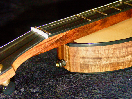 A new Aaron O'Rourke Fingerstyle Dulcimer is born!
