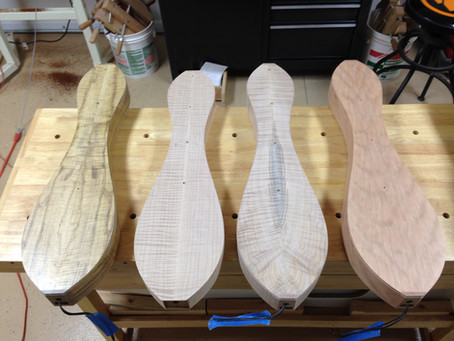 First build of the Aaron O'Rourke Fingerstyle Dulcimer is underway!