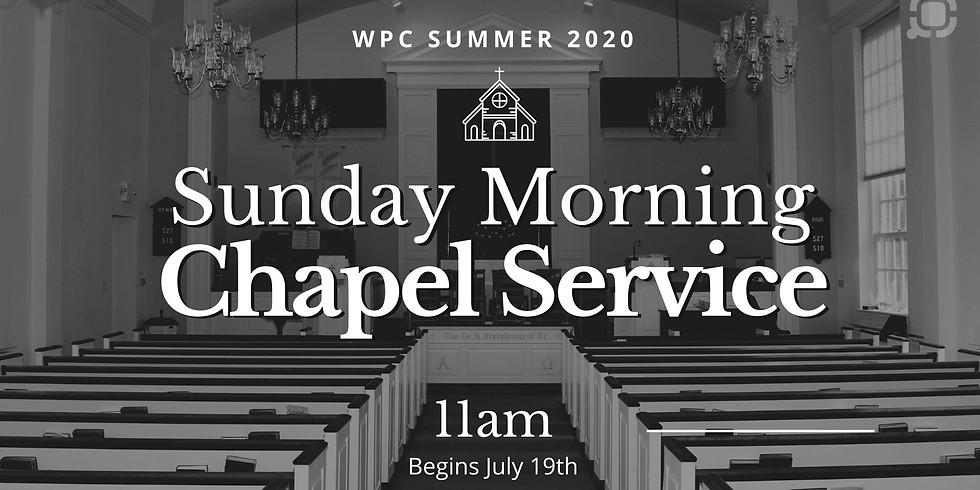 Sunday Morning Chapel Service