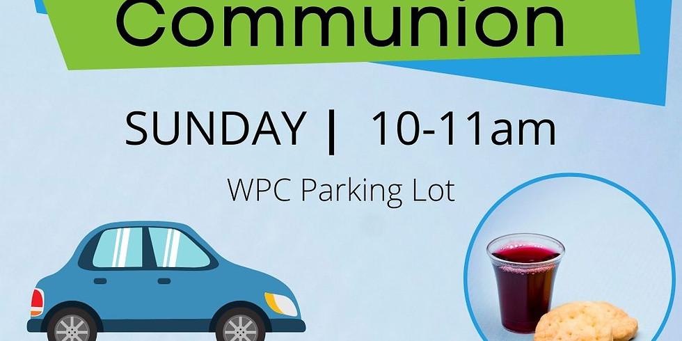 Drive-Up Communion