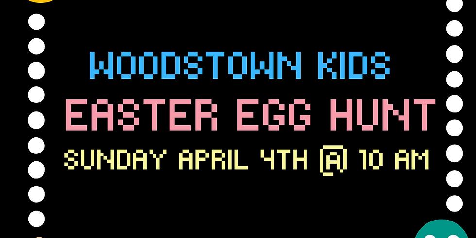 Pac-Man Easter Egg Hunt