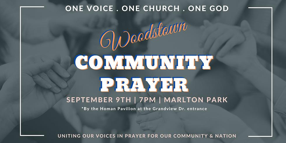 Woodstown Community Prayer