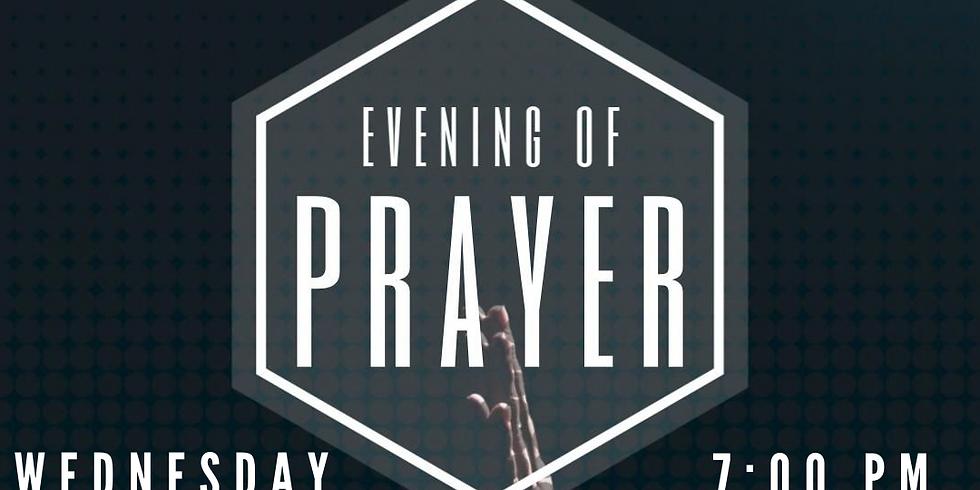 Wednesday Online Prayer Service
