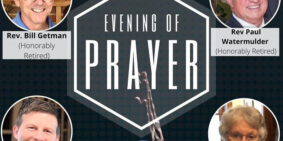Evening of Prayer: Restoration