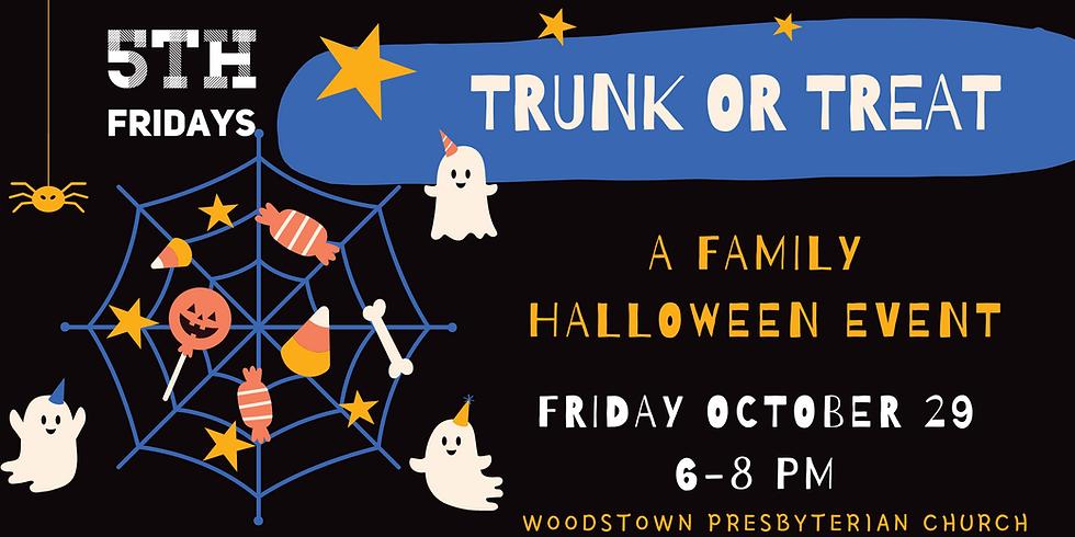 5th Fridays: Trunk or Treat Car Registration