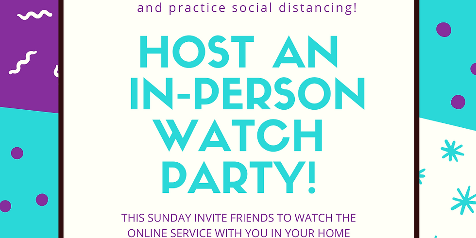 Host an In-Person Watch Party