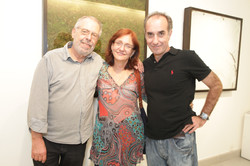 Expo Ricardo Becker 2012-Cisco Voce Nao Ve-Luiz Aquila Vania Castro Lopes e Ricardo Becker