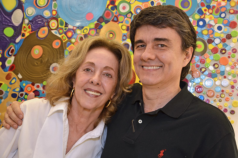 Cleide e Renato Baixa