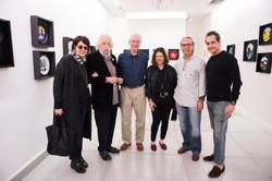 Liliana Leiner, Nelson Leirner, Paulo Bertazzi, Wanda Klabin, Fernando Ribeiro e Marcelo Catalano (2