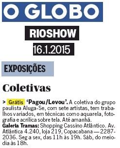 O Globo_Rioshow_16_01_15_Tramas Galeria