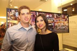 Pedro Melo e Erika Sampaio
