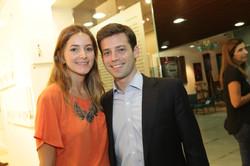 Flavia Novaes com o marido Luiz CordeiroIMG_5811