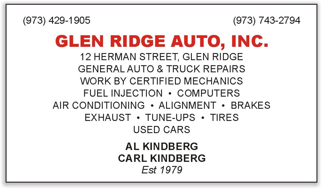 Glen Ridge Auto, Inc.