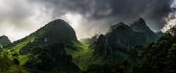 Chiang Dao mountain range.