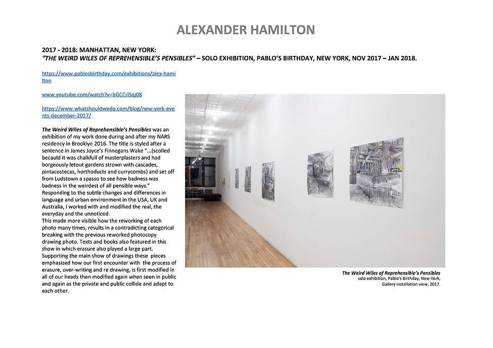 13 Alex Hamilton full CV September  2020