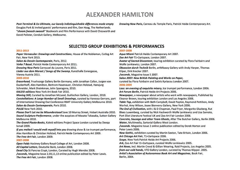 2 Alex Hamilton full CV September  2020.