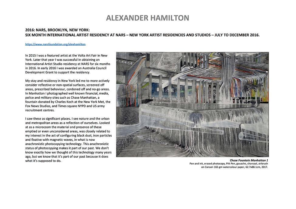 5 Alex Hamilton full CV September  2020.