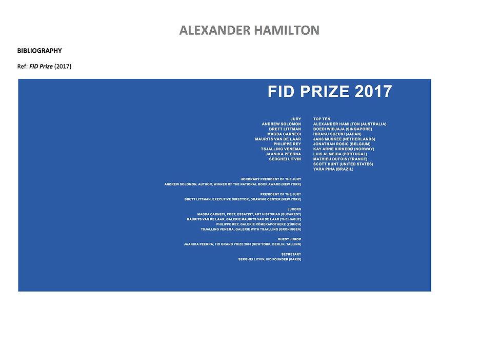 22 Alex Hamilton full CV September  2020