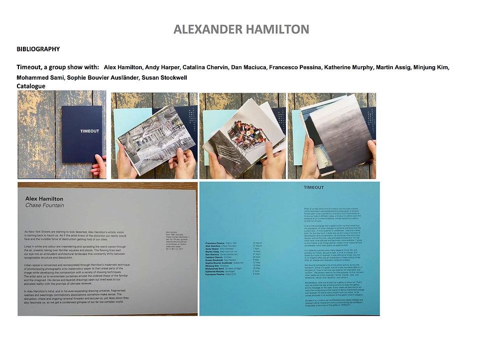 18 Alex Hamilton full CV September  2020