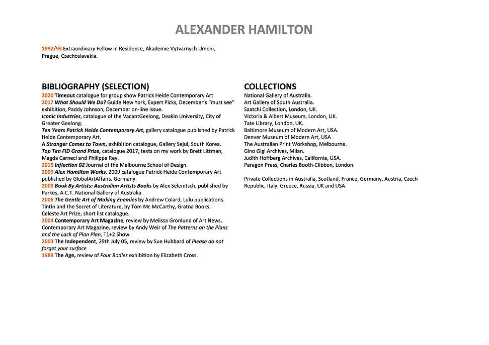 4 Alex Hamilton full CV September  2020.