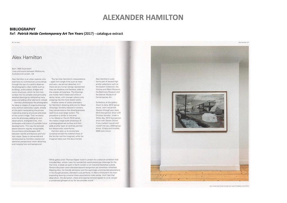 19 Alex Hamilton full CV September  2020