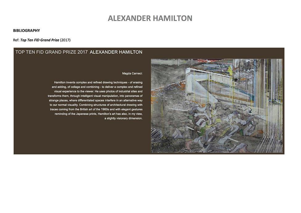 23 Alex Hamilton full CV September  2020