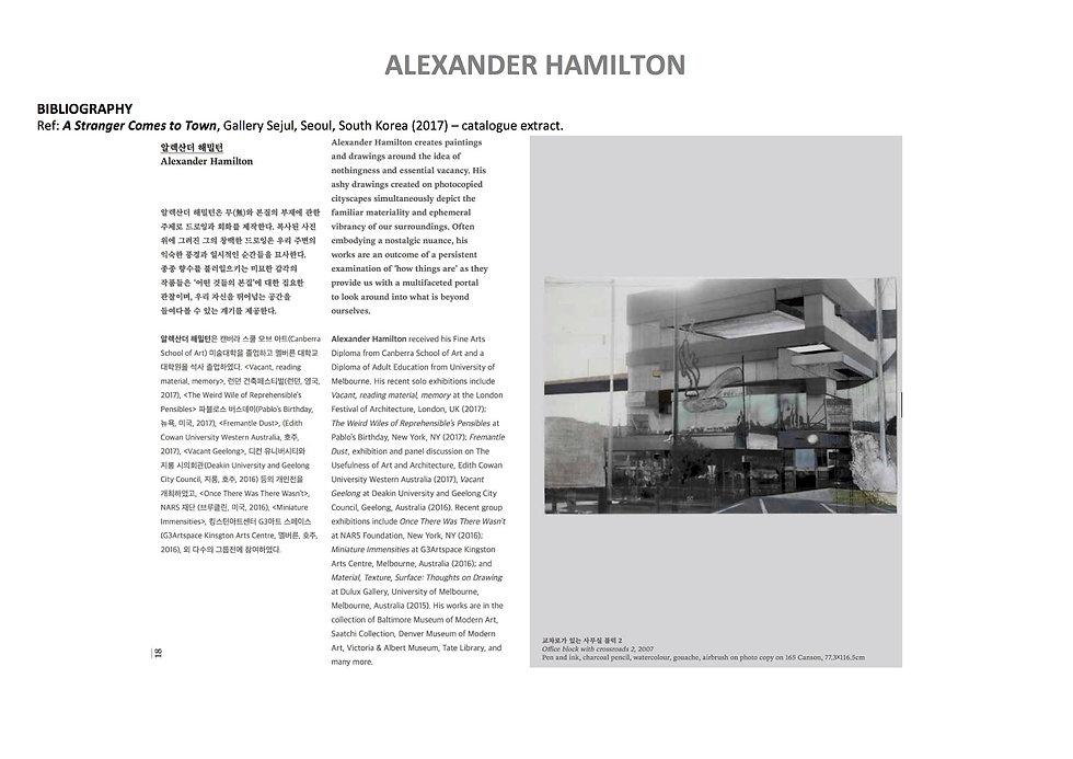 21 Alex Hamilton full CV September  2020