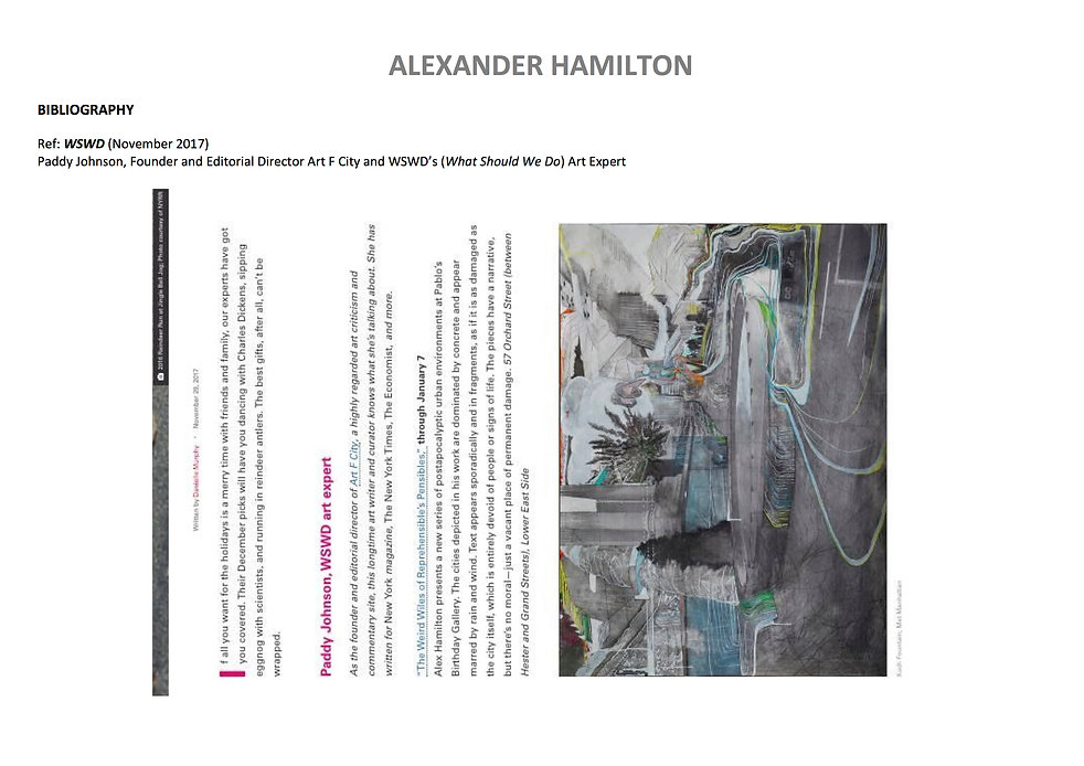 17 Alex Hamilton full CV September  2020