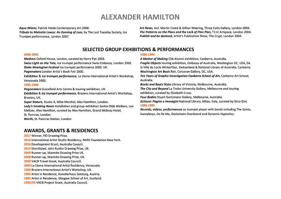 3 Alex Hamilton full CV September  2020.