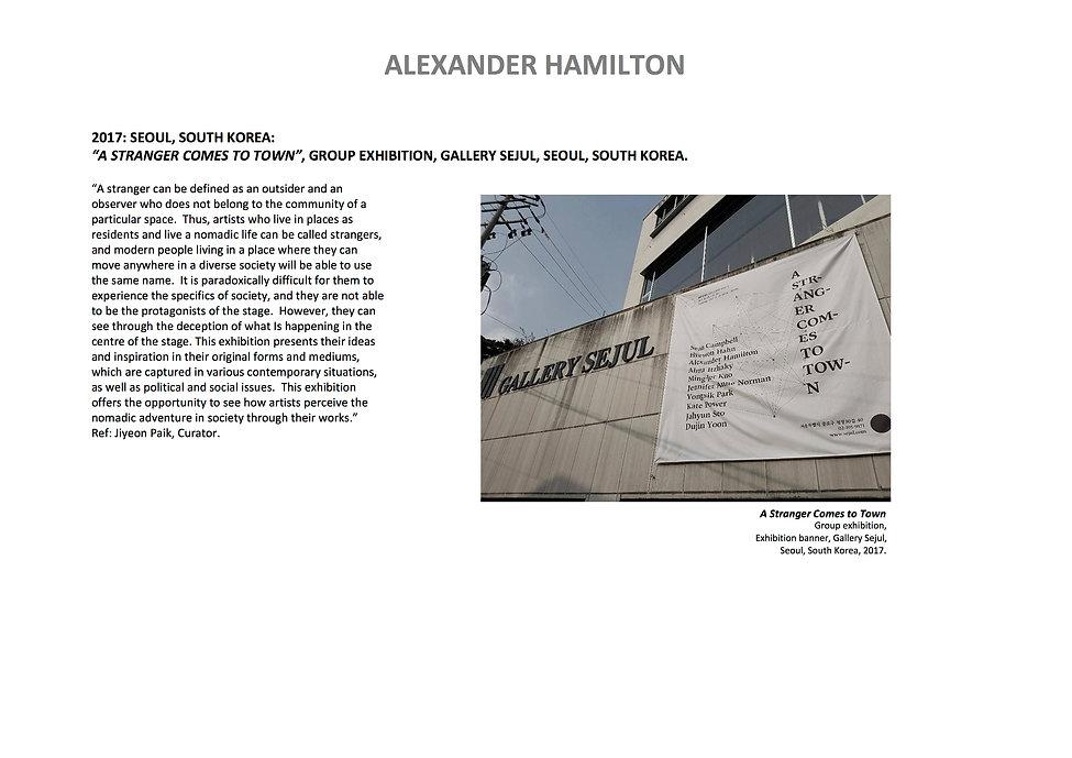 16 Alex Hamilton full CV September  2020