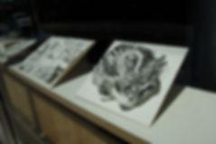 Nope Drawings by Alex Hamilton window 3.
