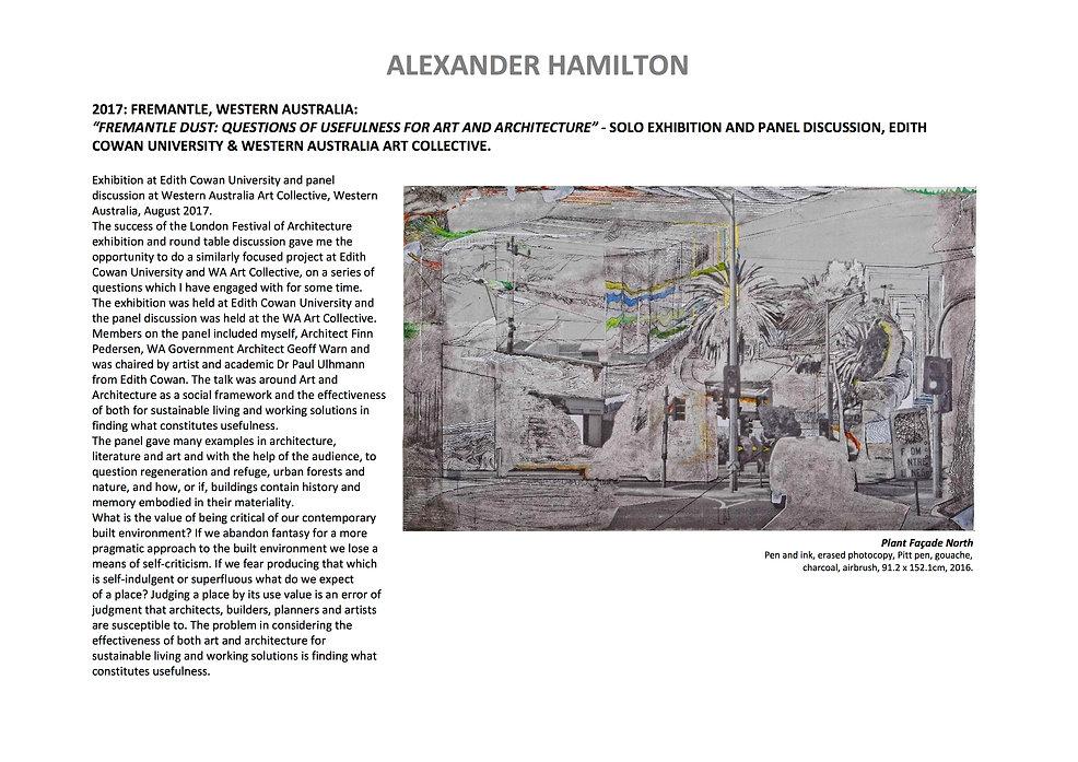 12 Alex Hamilton full CV September  2020