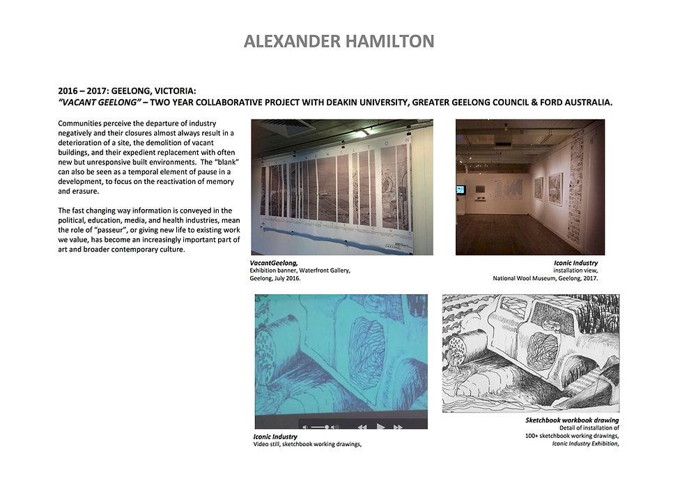 9 Alex Hamilton full CV September  2020.