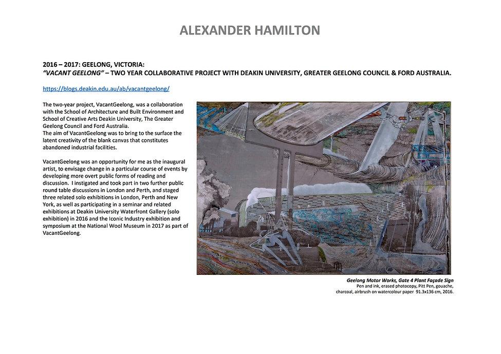 8 Alex Hamilton full CV September  2020.