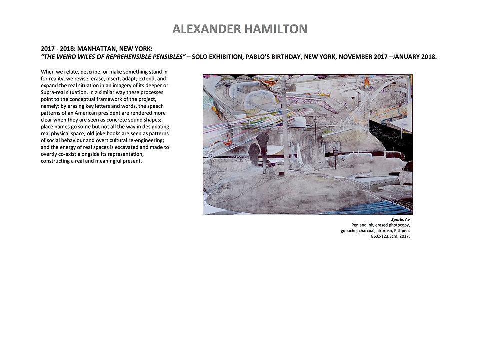 14 Alex Hamilton full CV September  2020