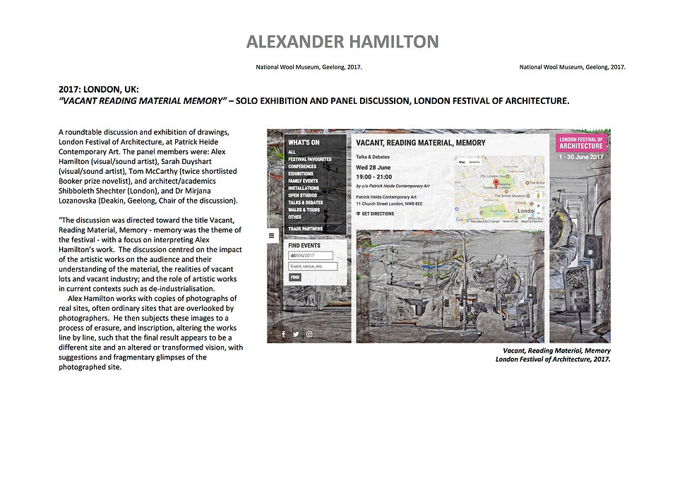 10 Alex Hamilton full CV September  2020