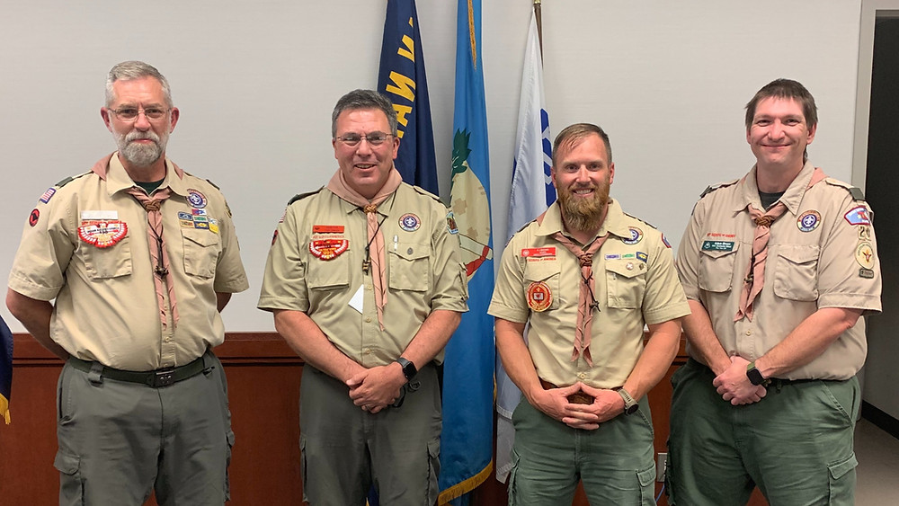 Congratulations to PJ Brown on earning his Wood Badge!