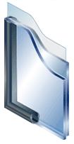 真空ガラス構造