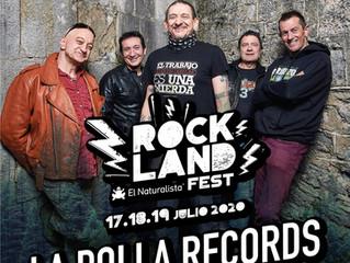 LA POLLA RECORDS encabezará RockLand El Naturalista Fest los días 17, 18 y 19 de julio en Santo Domi