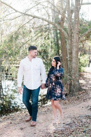 Cypress, TX - Engagement session for Michelle & Josue