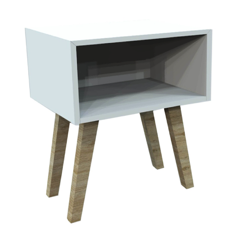 BOX-LG BEDSIDE TABLE HWC12